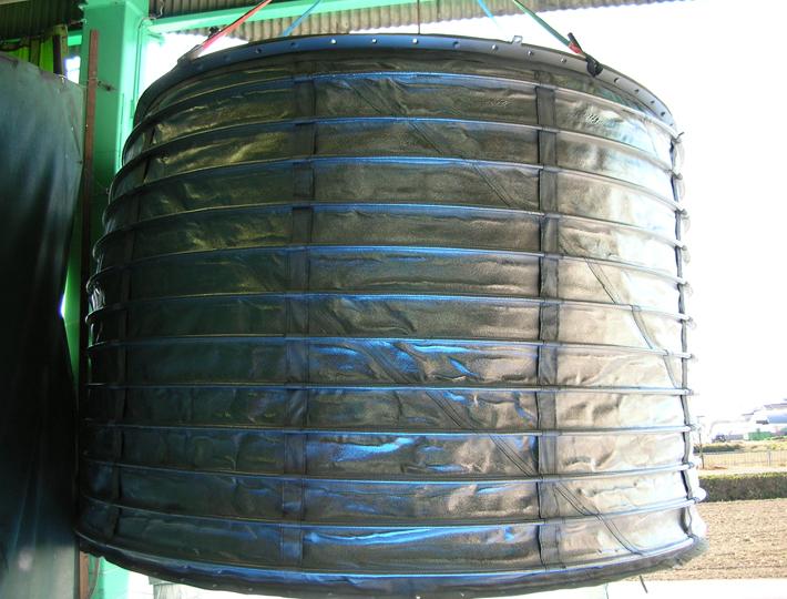 運搬車積込用防塵カバー